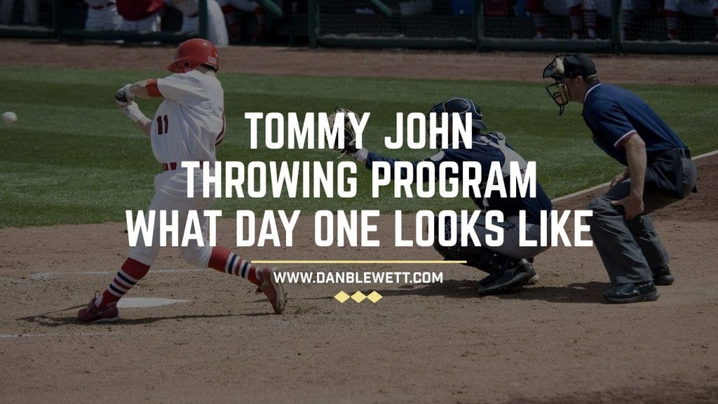 tommy john throwing program recovery