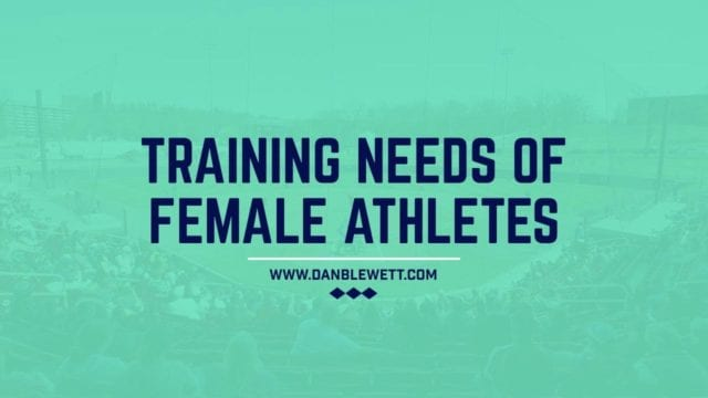 strength training workouts for female softball players