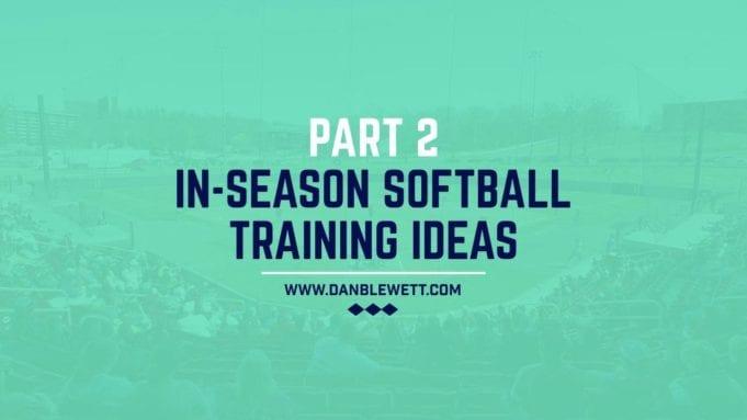 workouts for softball players