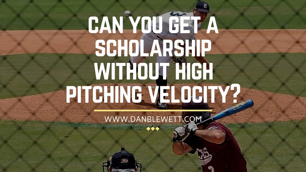 scholarships for pitchers