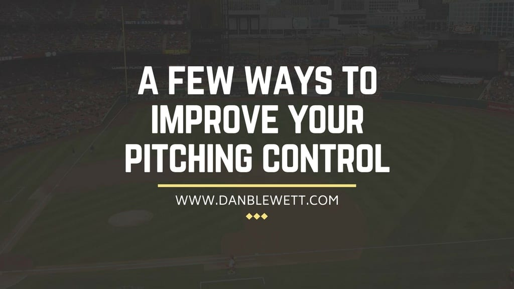 improve pitching control in baseball