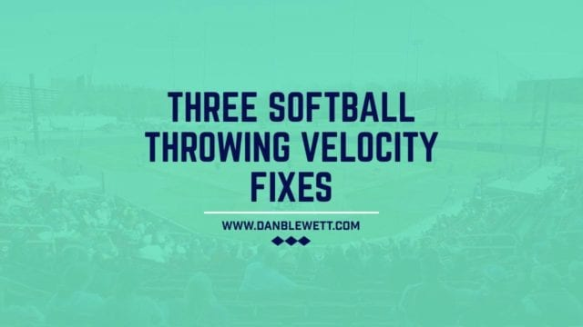 improve softball throwing mechanics
