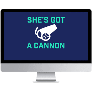 she's got a cannon