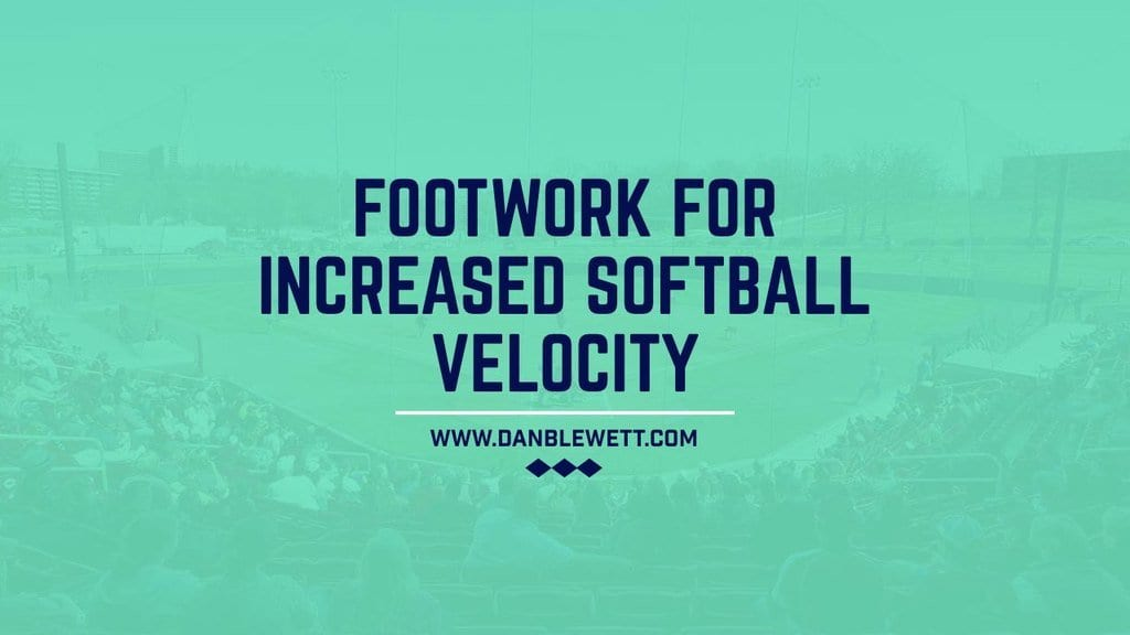 softball throwing and fielding footwork