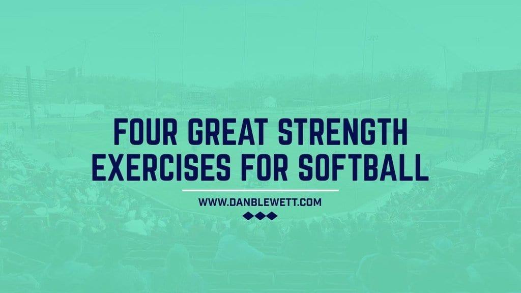 strength exercises for softball players