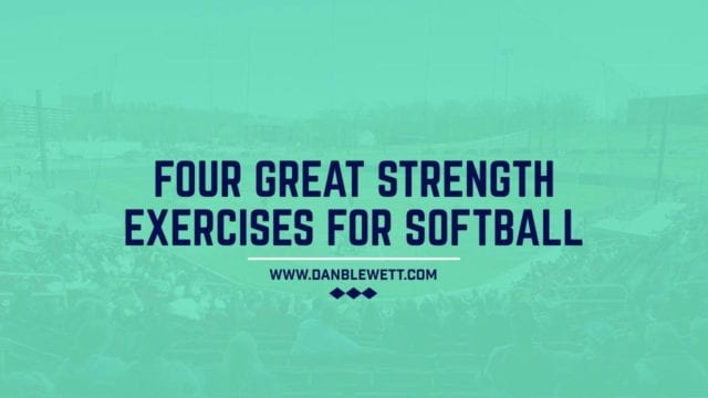 strength exercises for softball players