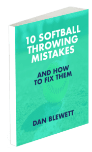 softball throwing mistakes