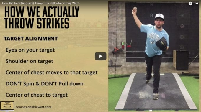 pitching command training