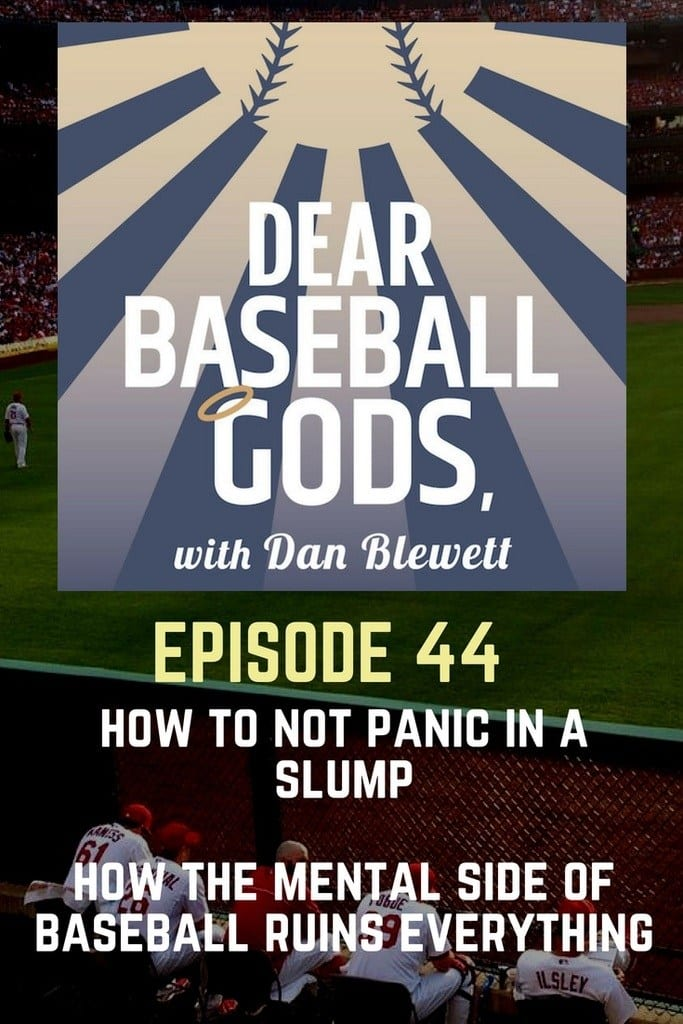 how to deal with slumps in baseball