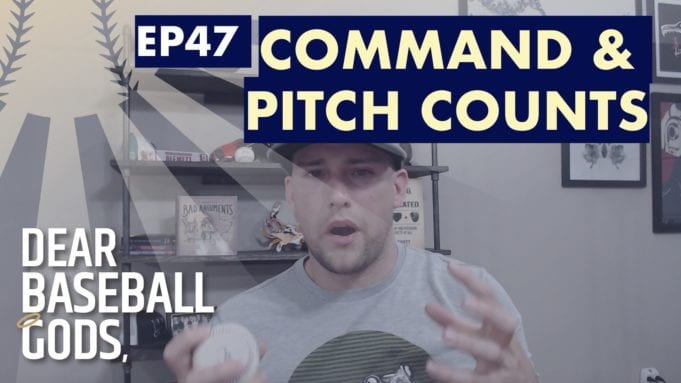 How to improve pitch counts and command
