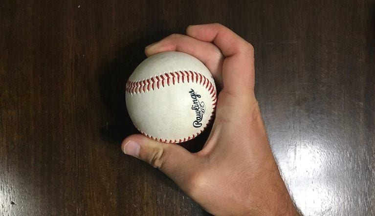 crossover curveball grip baseball 1