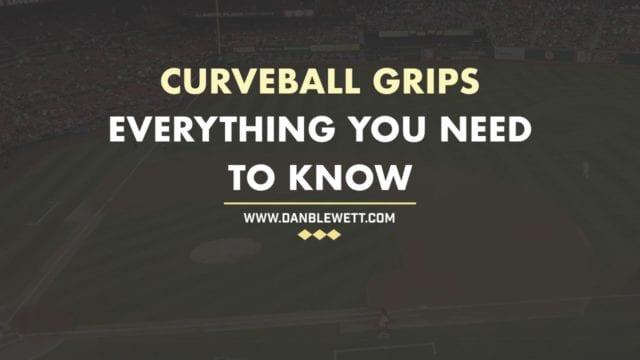 curveball grips baseball