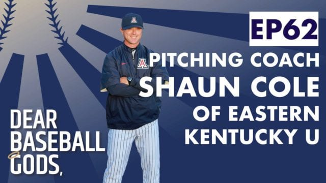 shaun cole pitching coach