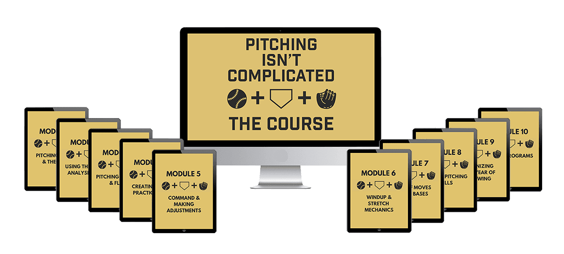 pitching isn't complicated course