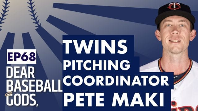 Pete Maki Minnesota Twins Pitching Coordinator