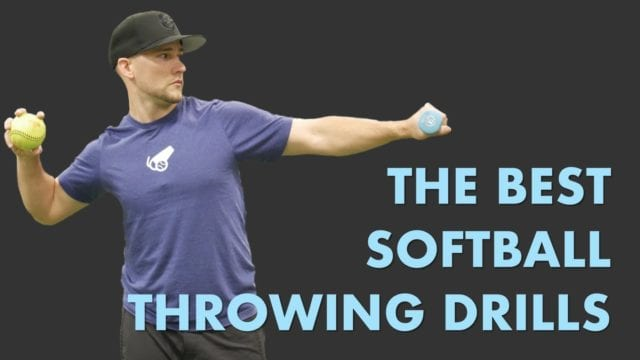 best softball throwing drills