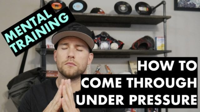 handle pressure as an athlete