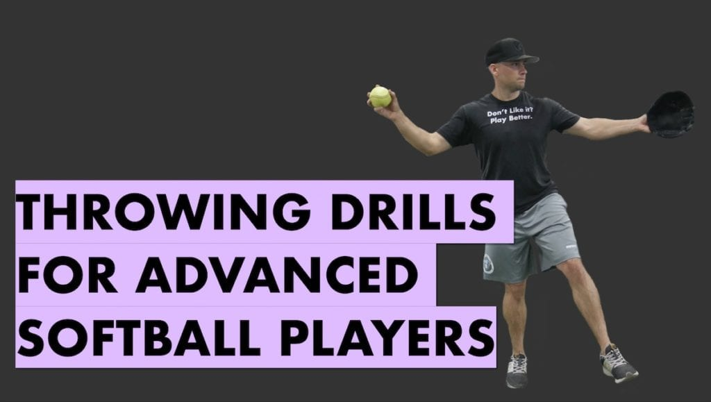 softball throwing drills for speed
