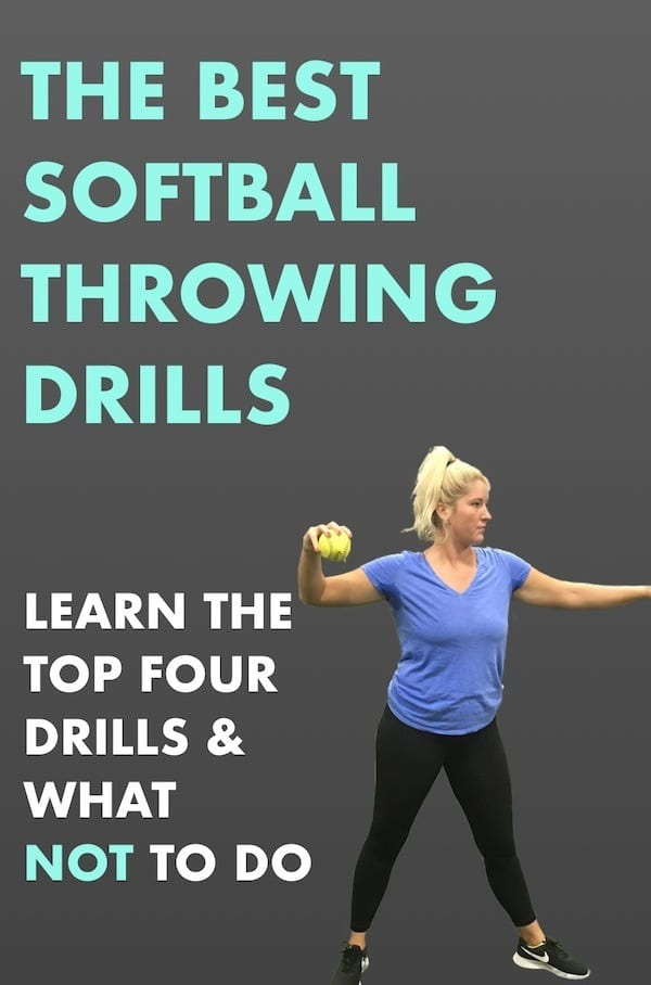 top four softball drills for throwing