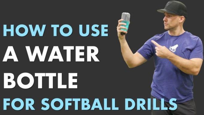 water bottle drill softball