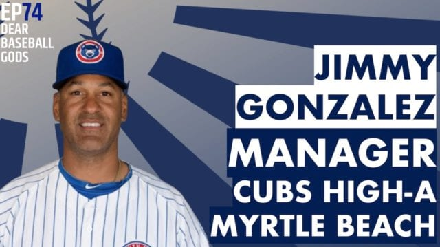 Jimmy Gonzalez Baseball Coach