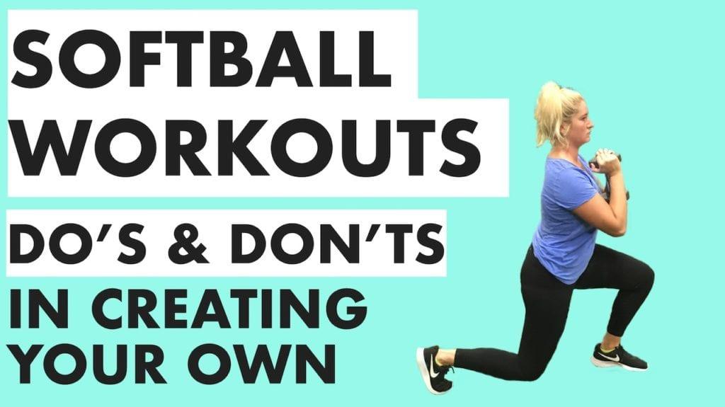 softball workouts training