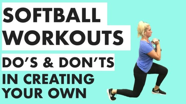 softball workouts training