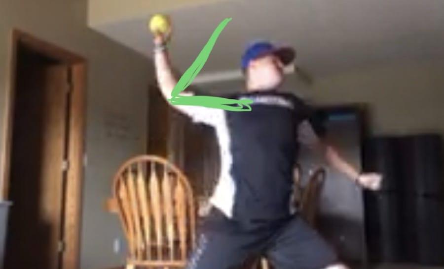 softball throwing progression